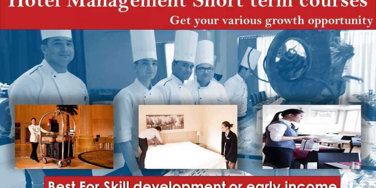 Aspired career: Start with 6 month hotel management course