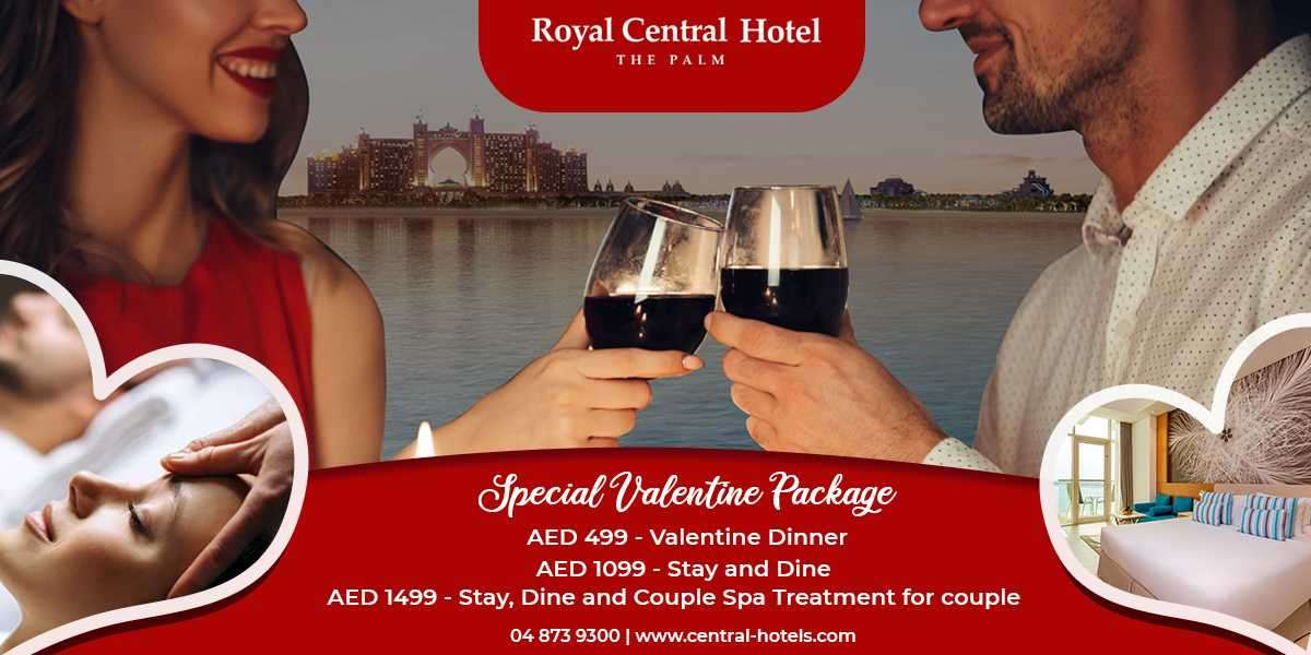 Enjoy Valentine's Day with Your Loved Ones at Royal Central Hotel - The Palm