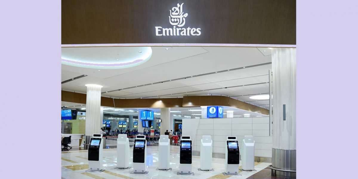 Emirates Enhances Smart Contactless Journey with Touchless Self Check-in Kiosks