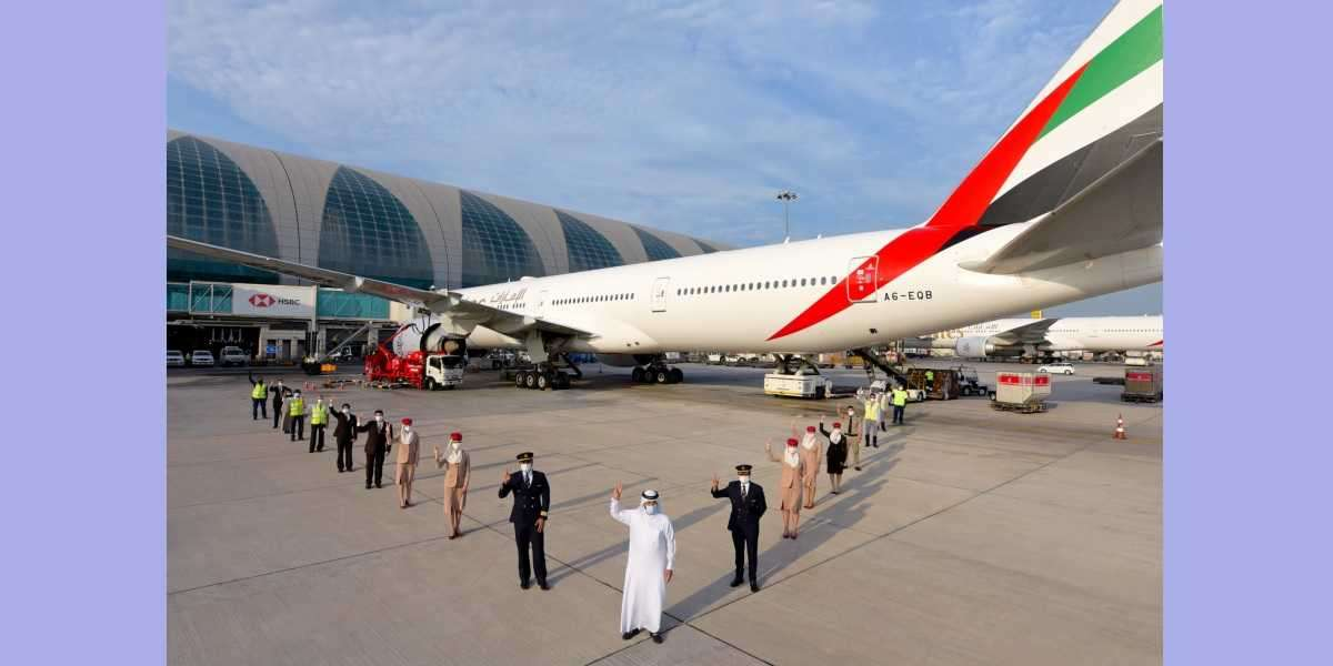 Safety Above All, Always: Emirates Operates First Flight Serviced by Fully Vaccinated Frontline Teams