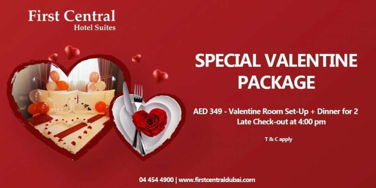 Love is in the Air at First Central Hotel Suites Dubai