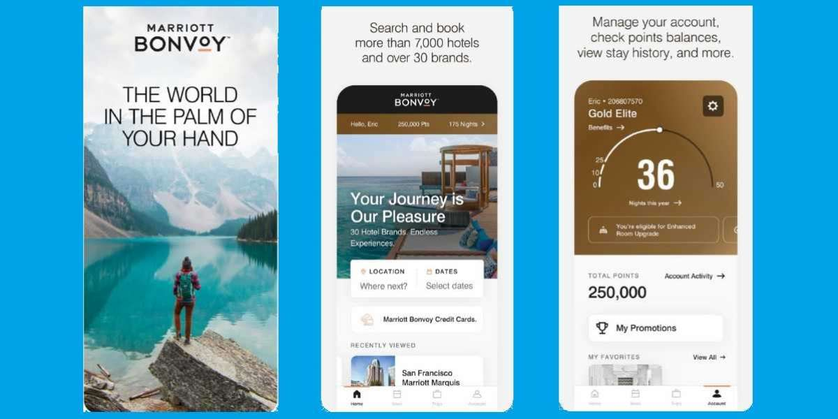 Marriott Bonvoy Mobile App Refreshed to Offer a More Intuitive and Personalised Experience