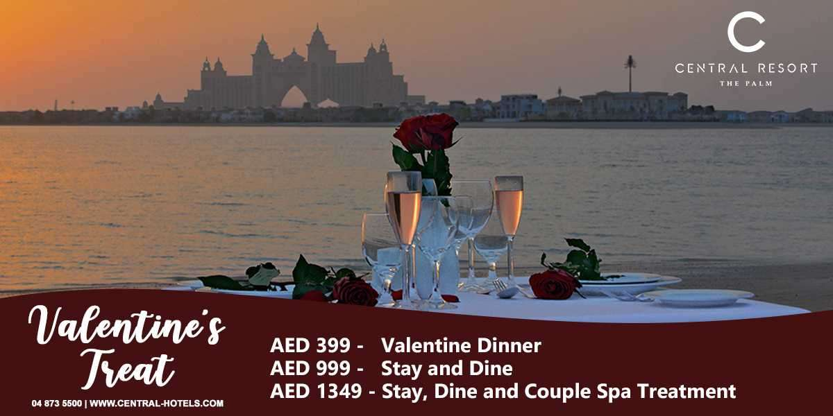Love is in C Central Resort this Valentine's Day