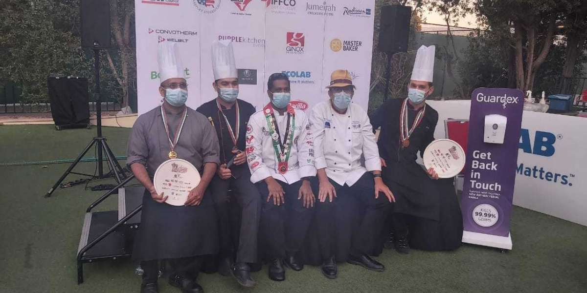 Pullman Dubai Creek City Centre bags 8 medals in the Expo Culinaire feat the 24th Emirates International Salon Culinaire