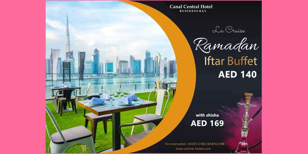 An Authentic Touch to Ramadan's Dining Experiences with Canal Central Hotel Business Bay