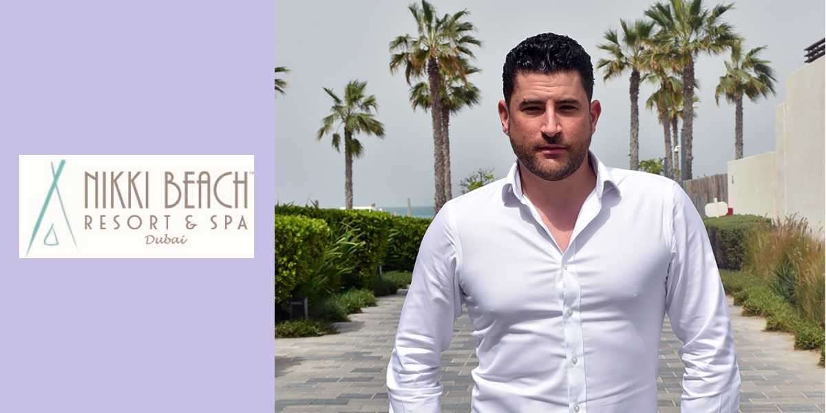 Meet Matthew Maynard: Newly Appointed Food & Beverage Operations Manager at Nikki Beach Resort & Spa Dubai