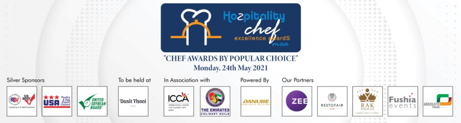 Middle East Chef Excellence Awards 2021 Cover Image