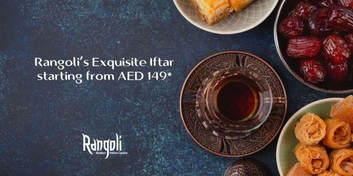 Rangoli's Exquisite Iftar
