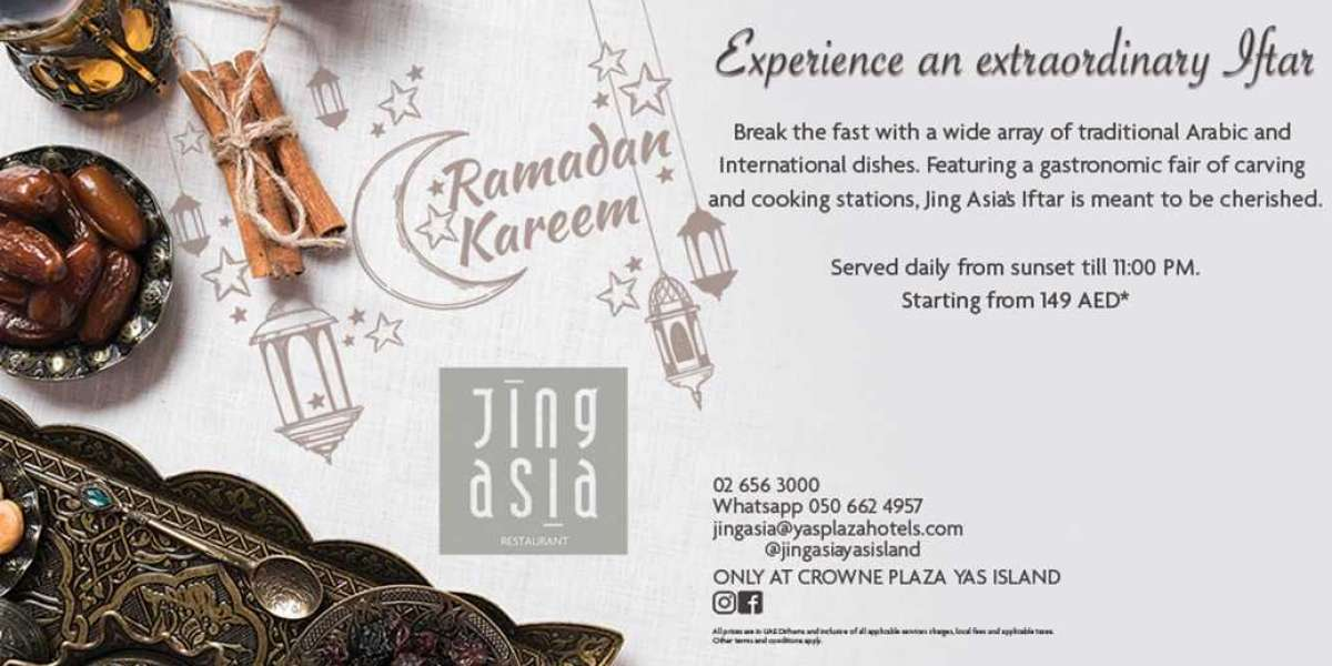 Experience an extraordinary Iftar at Jing Asia⁣
