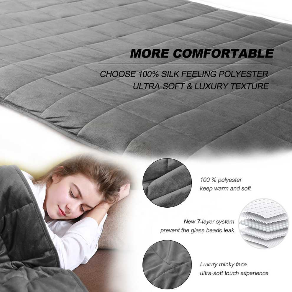 Weighted Blanket With Glass Beads's Product catelog