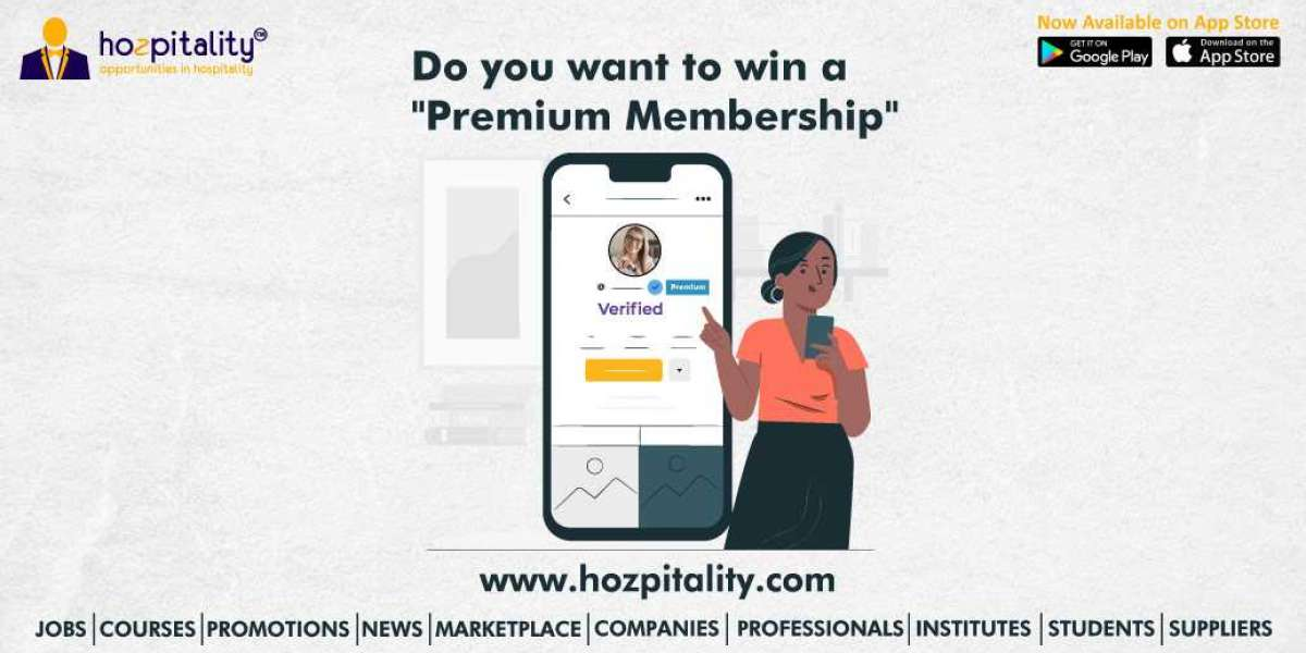 DO YOU WANT TO WIN FREE VERIFIED BADGE AND PREMIUM MEMBERSHIP ON HOZPITALITY?