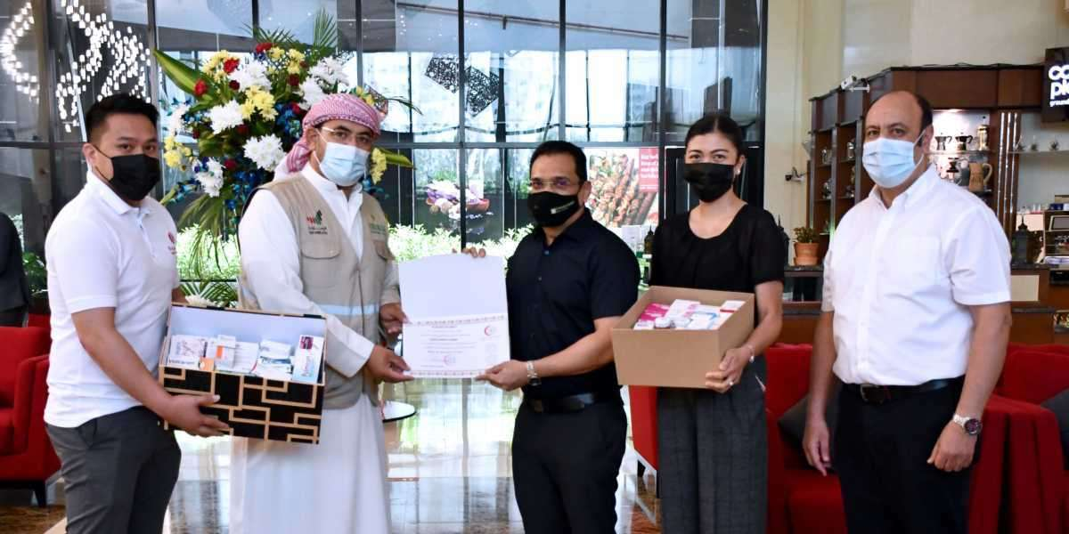 Wyndham Hotels Ajman Organise Ramadan Medicine Donation Drive