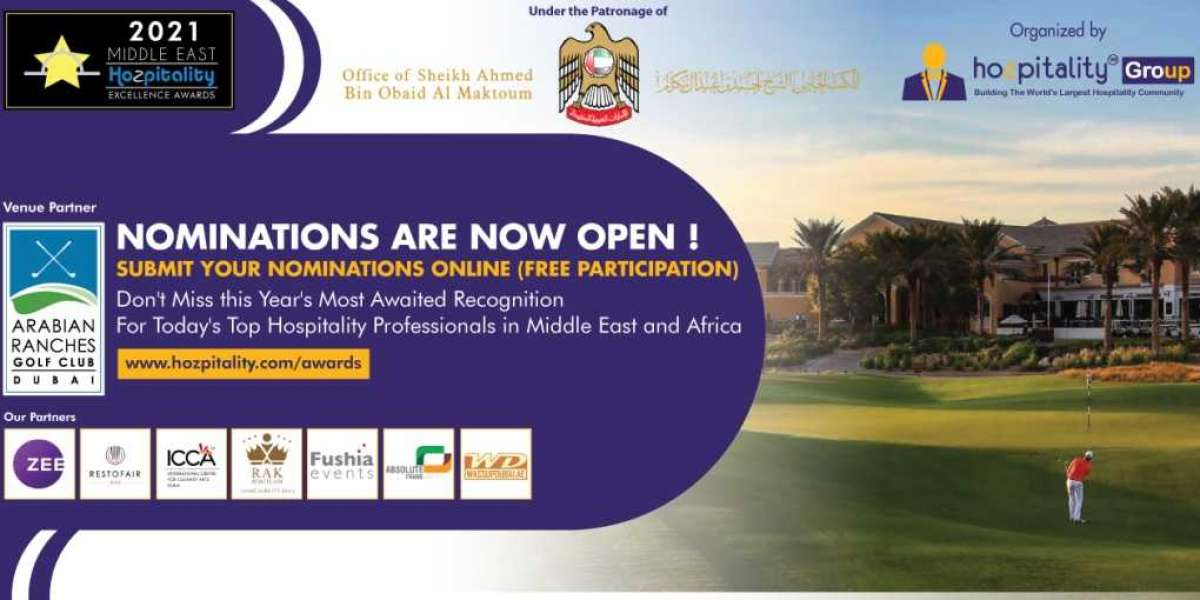 Online nominations are now open for the 7th Middle East Hospitality Excellence Awards 2021