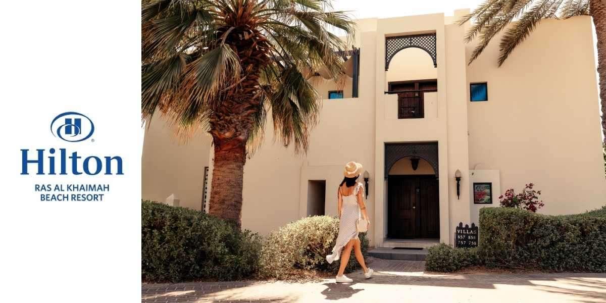 Escape to Your Own Private Paradise with Hilton Ras Al Khaimah Beach Resort's Seafront Villas