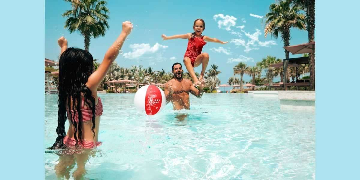 Cool Off and Relax in Style this Eid with Caesars Palace Dubai's Chic Pool Daycation Packages