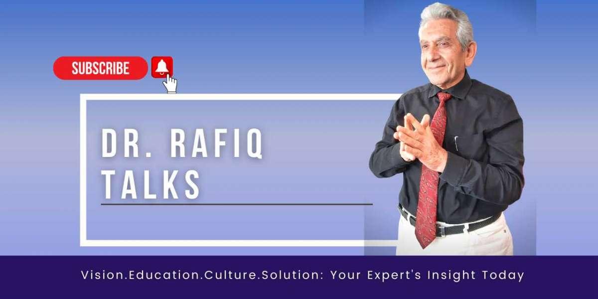Dr. Rafiq Al Khatib launched his YouTube Channel - Dr. Rafiq Talks