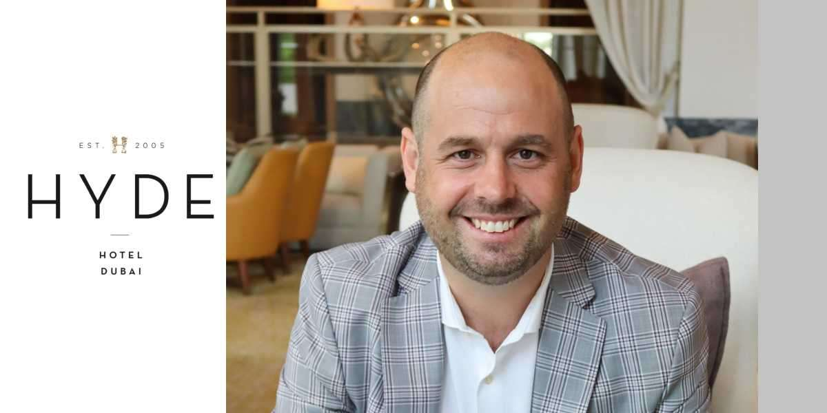 Hyde Hotel Dubai Appoints Luke James as General Manager