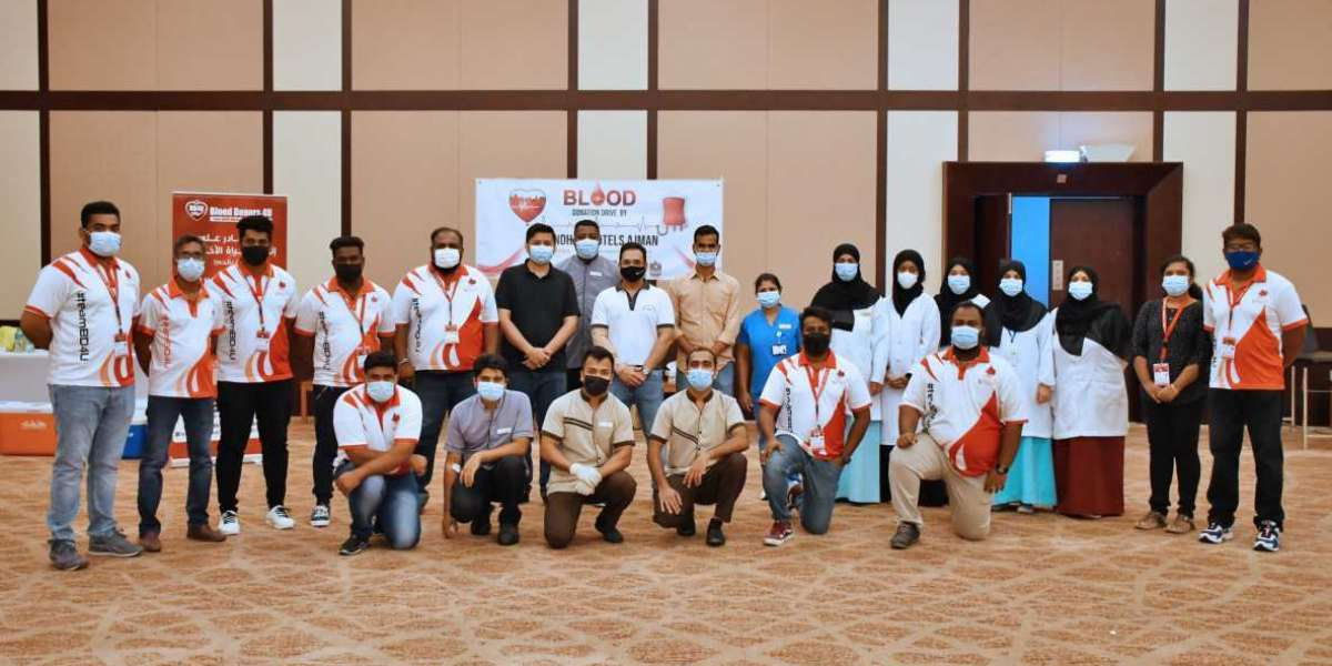 Wyndham Hotels Ajman Take Part in Blood Donation Drive