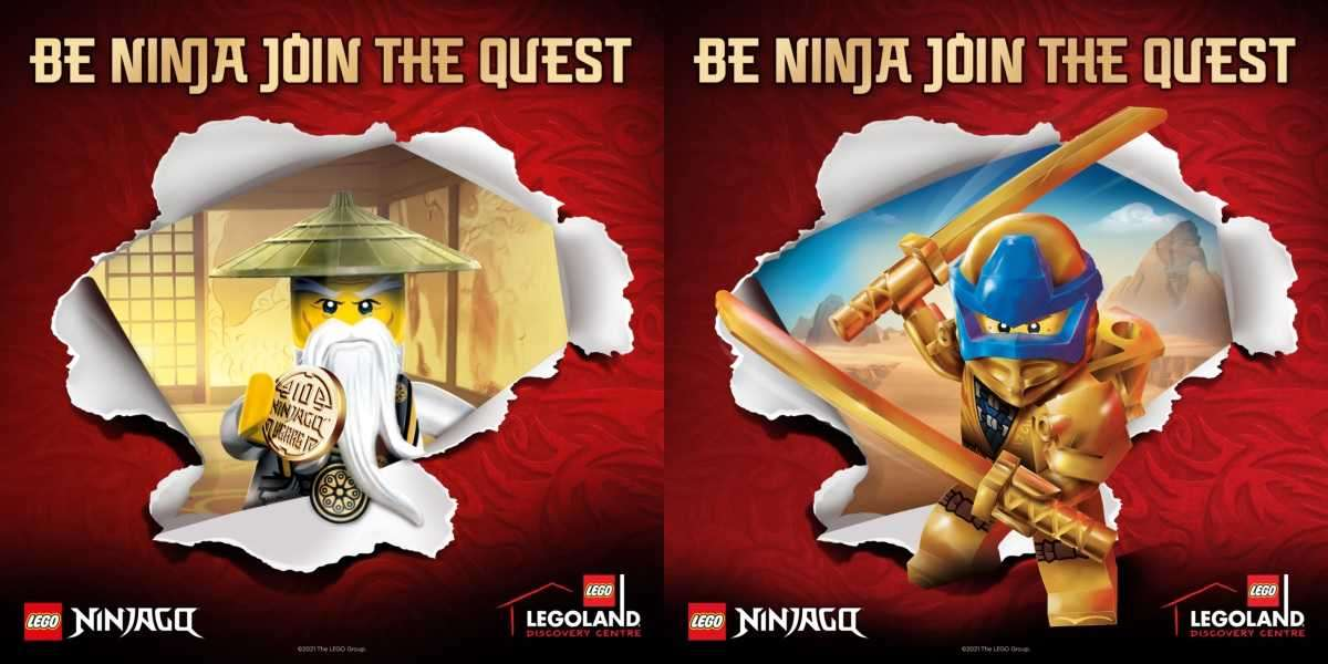 Celebrate 10 Years of LEGO® NINJAGO® with the Ultimate Immersive Experience at Legoland Discovery Centre Toronto