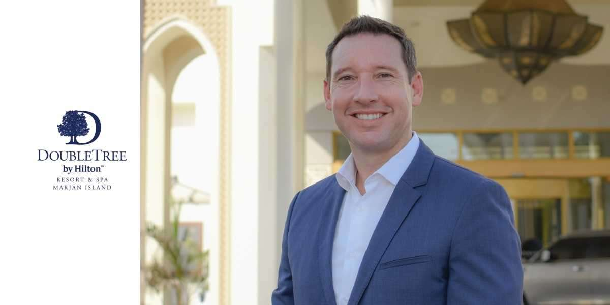DoubleTree by Hilton Resort & Spa Marjan Island Appoints Pieter Van Beugen as General Manager
