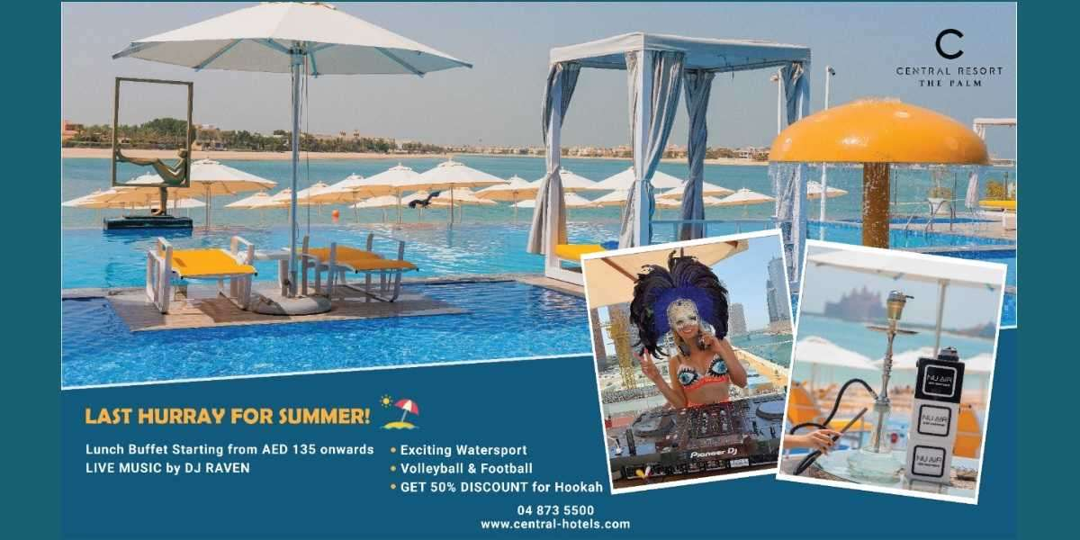 Last Hurray for Summer at C Central Resort The Palm