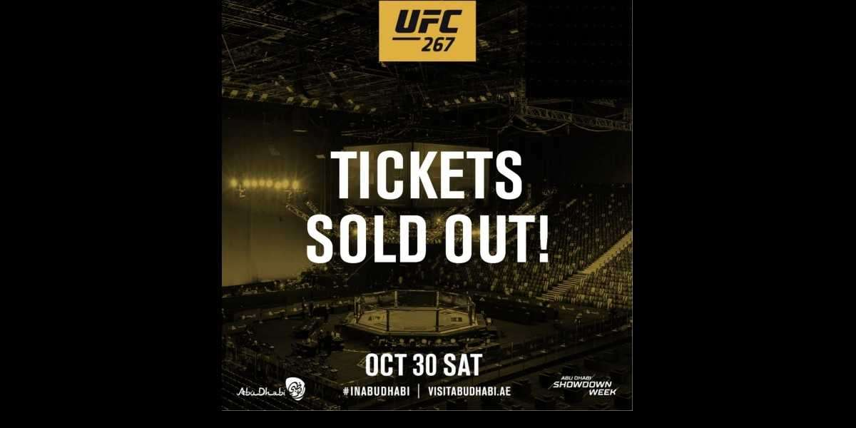 Tickets for UFC 267: Blachowicz vs. Teixeira Sell Out in Record Time