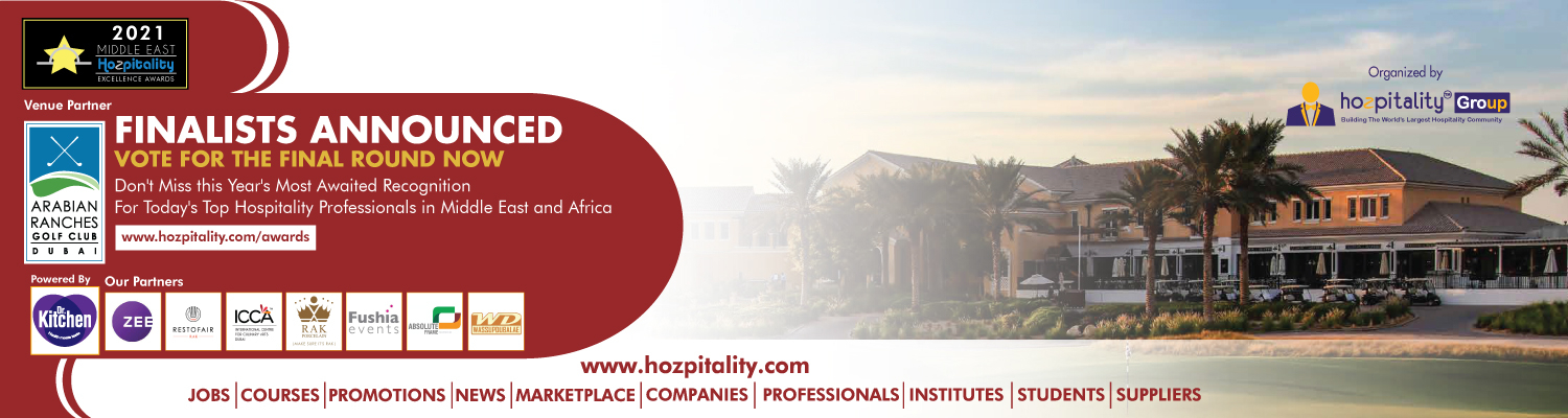 Middle East Hospitality Excellence Awards in 2021