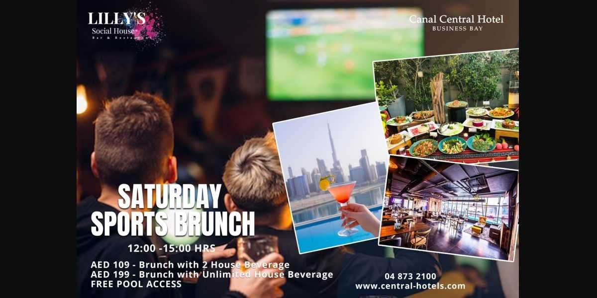 Saturday Sports Brunch at Lilly's Social House
