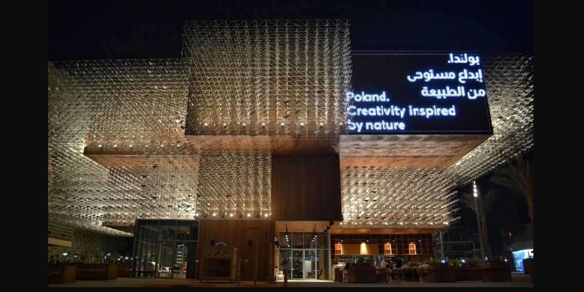 The Polish Pavilion at Expo 2020 in Dubai is Now Open