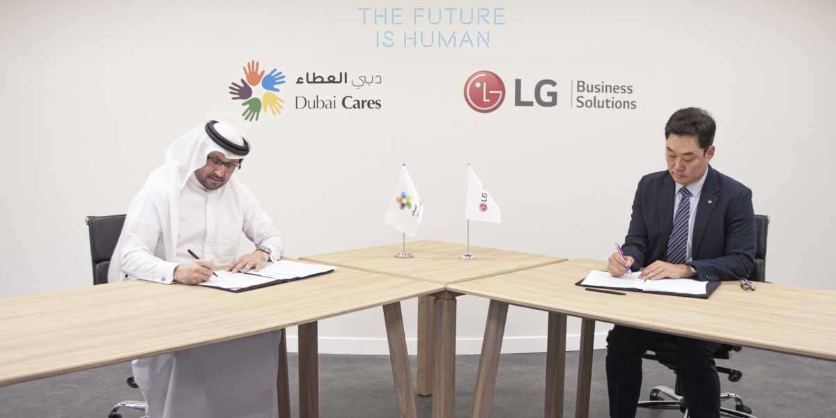 Dubai Cares and LG Electronics Sign Partnership to Offer an Immersive Pavilion Experience for Expo 2020 Dubai Visitors