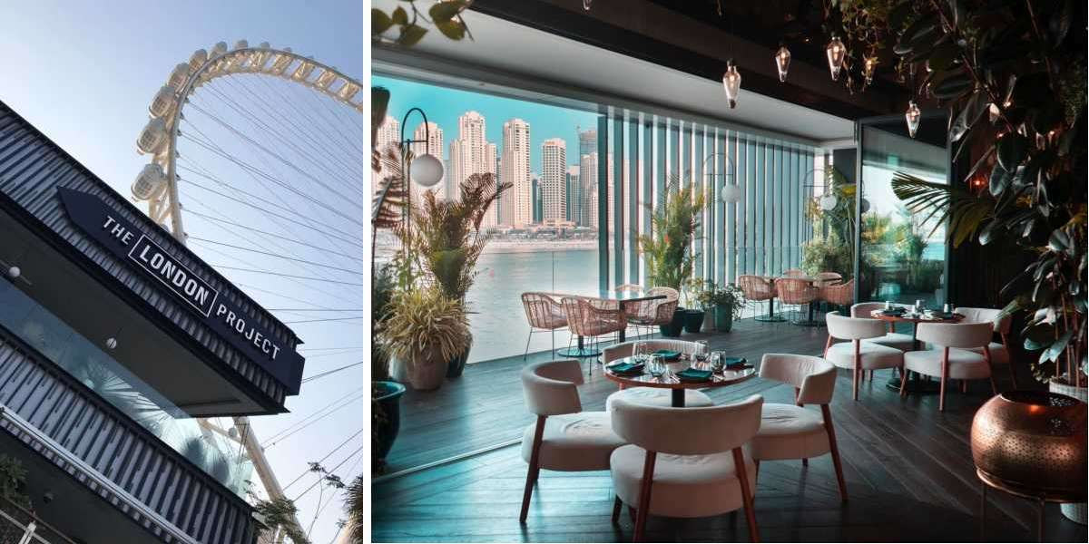 The London Project Presents a New Menu and Live Music at the Base of Ain Dubai for its Dazzling Grand Opening