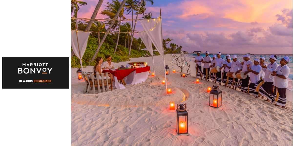 Marriott Bonvoy Portfolio of Resorts in the Maldives Offer a Haven to Celebrate Your Love