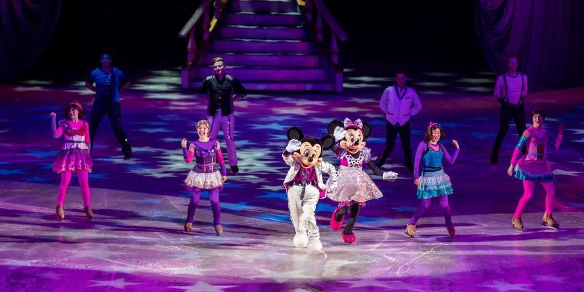 Disney on Ice Spectacular and Russell Peters Comedy Show Bring 30,000 Fans to Abu Dhabi's Etihad Arena